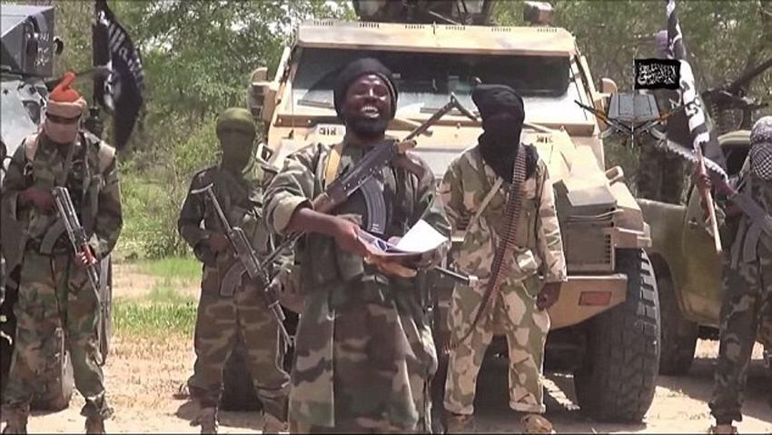 """尼日利亚一架直升机被""""博科圣地""""击落 5名平民死亡"""