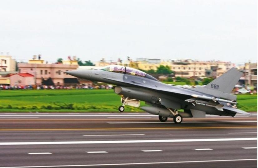 ▲F-16單座戰機(資料圖)