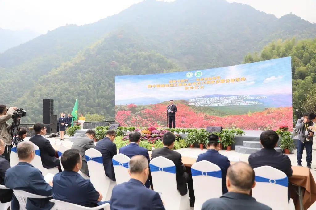 """浙江农林大学获""""中国绿色碳汇基金会成立十周年优秀合作伙伴""""奖图片"""