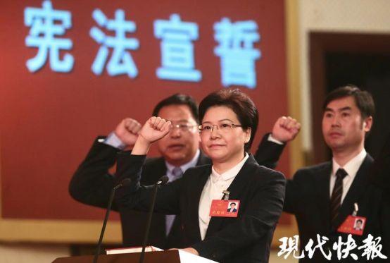 她成南京首位女市长 曾用三个比喻谈主政方向等图片