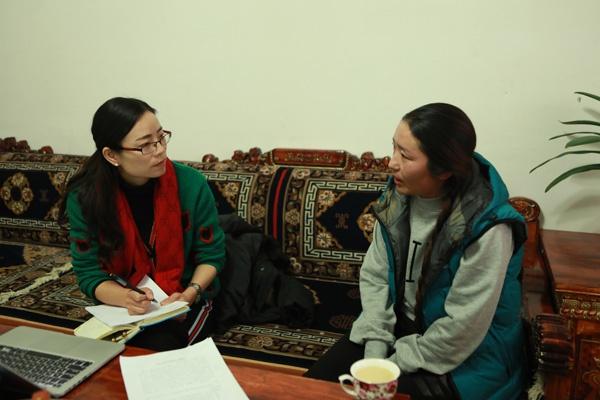 雪域高原巾帼红 记西藏自治区纪委监委宣传部干部赵英图片