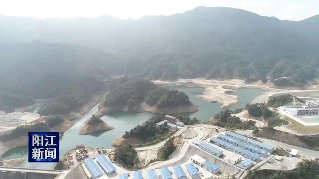 阳江抽水蓄能电站开始安装机电设备