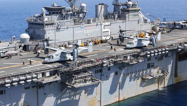 中东剑拔弩张美增兵不断,又一海上打击群逼近,克宫:伊朗危险了