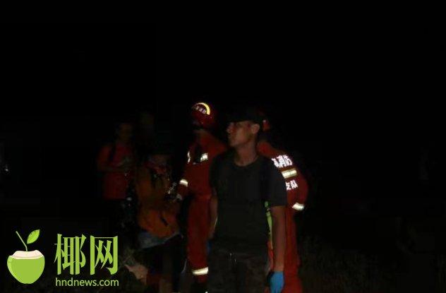惊险!6名驴友文昌铜鼓岭深夜探险迷路 救援人员徒步近2小时营救