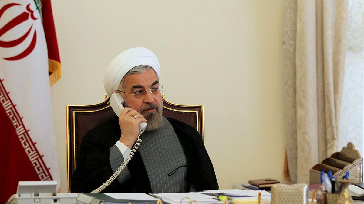 △伊朗总统鲁哈尼