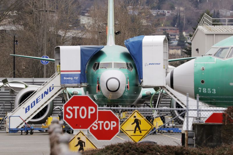 波音737 Max客机 图片来源:美联社