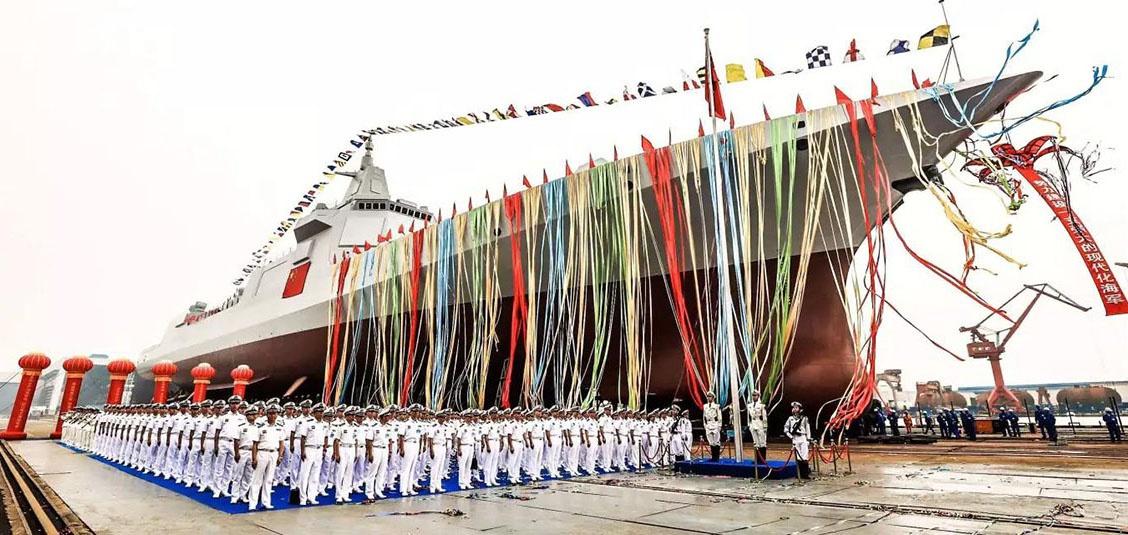 从下水到入列 万吨级的南昌舰需要完成哪些试验?图片