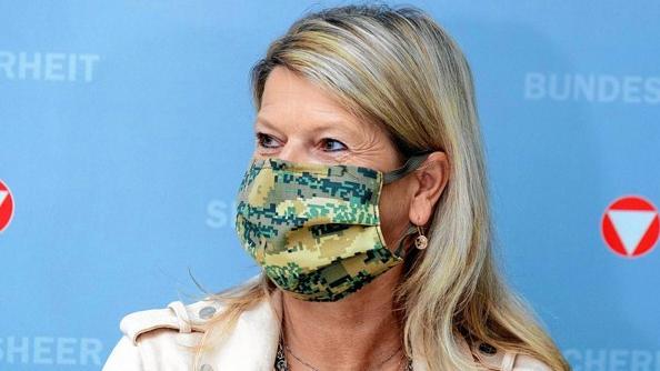 因接触新冠病毒感染者 奥地利国防部长开始居家隔离