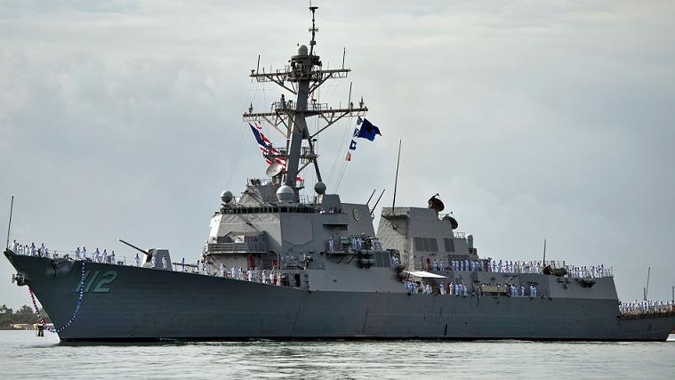 美军军舰暴发大规模新冠疫情