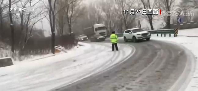 陕西发布暴雪预警 关中地区普降大雪图片