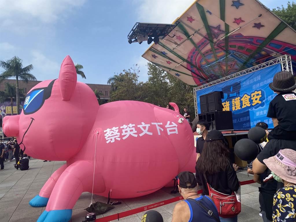 """台湾""""秋斗""""现场(中时电子报)"""