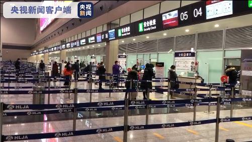 黑龙江哈尔滨:最大暴雪当时 机场运力仍在规复中(图3)