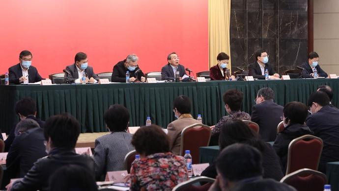 人民政协如何凝聚共识?上海市政协主席强调要解决好这五个问题图片