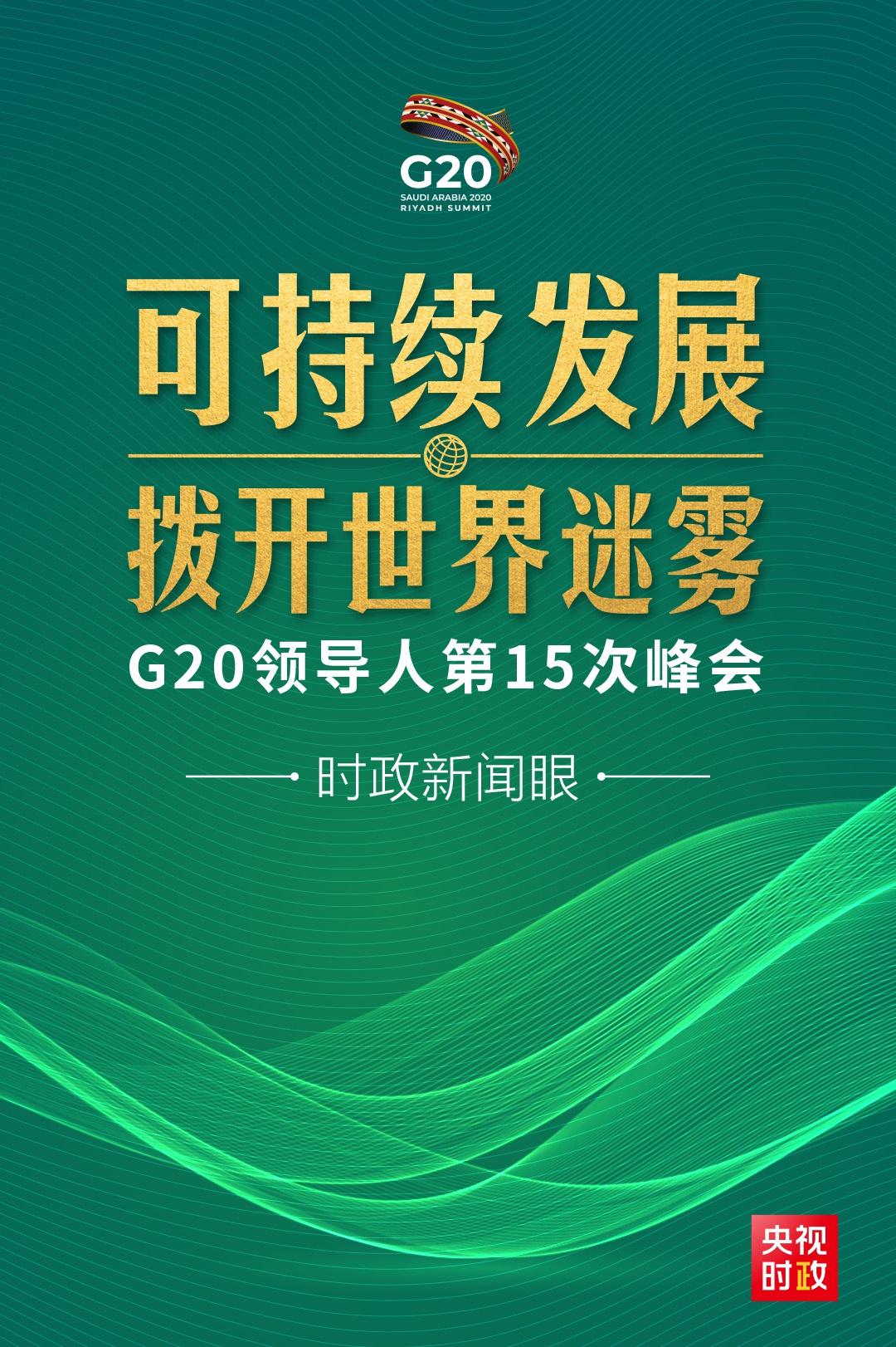 """G20峰会第二天,习近平重点阐述可持续发展这把""""金钥匙""""图片"""