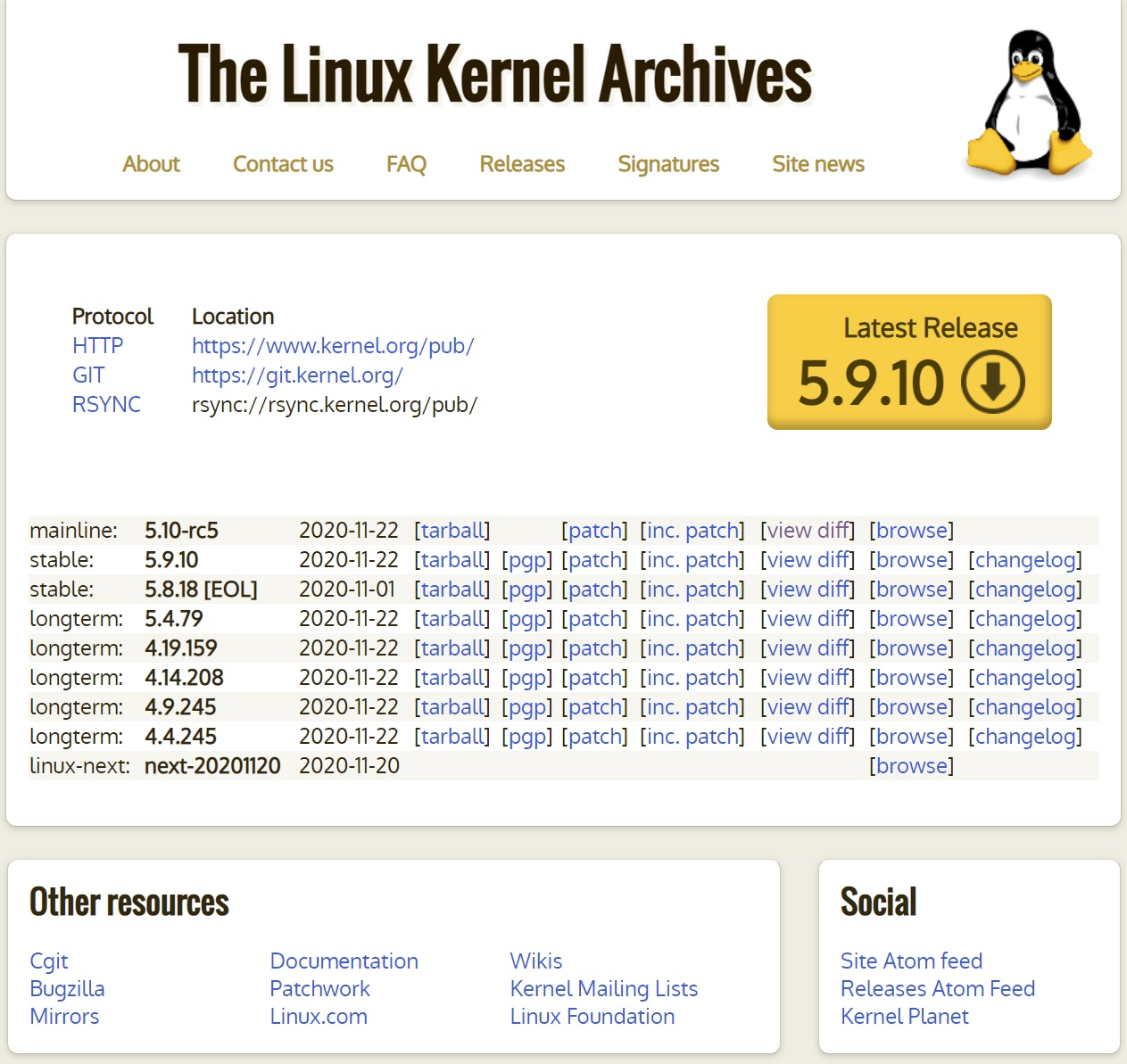 Linux 5.10-rc5 测试版发布:仍有许多 Bug 待修复,预计年底前推出正式版