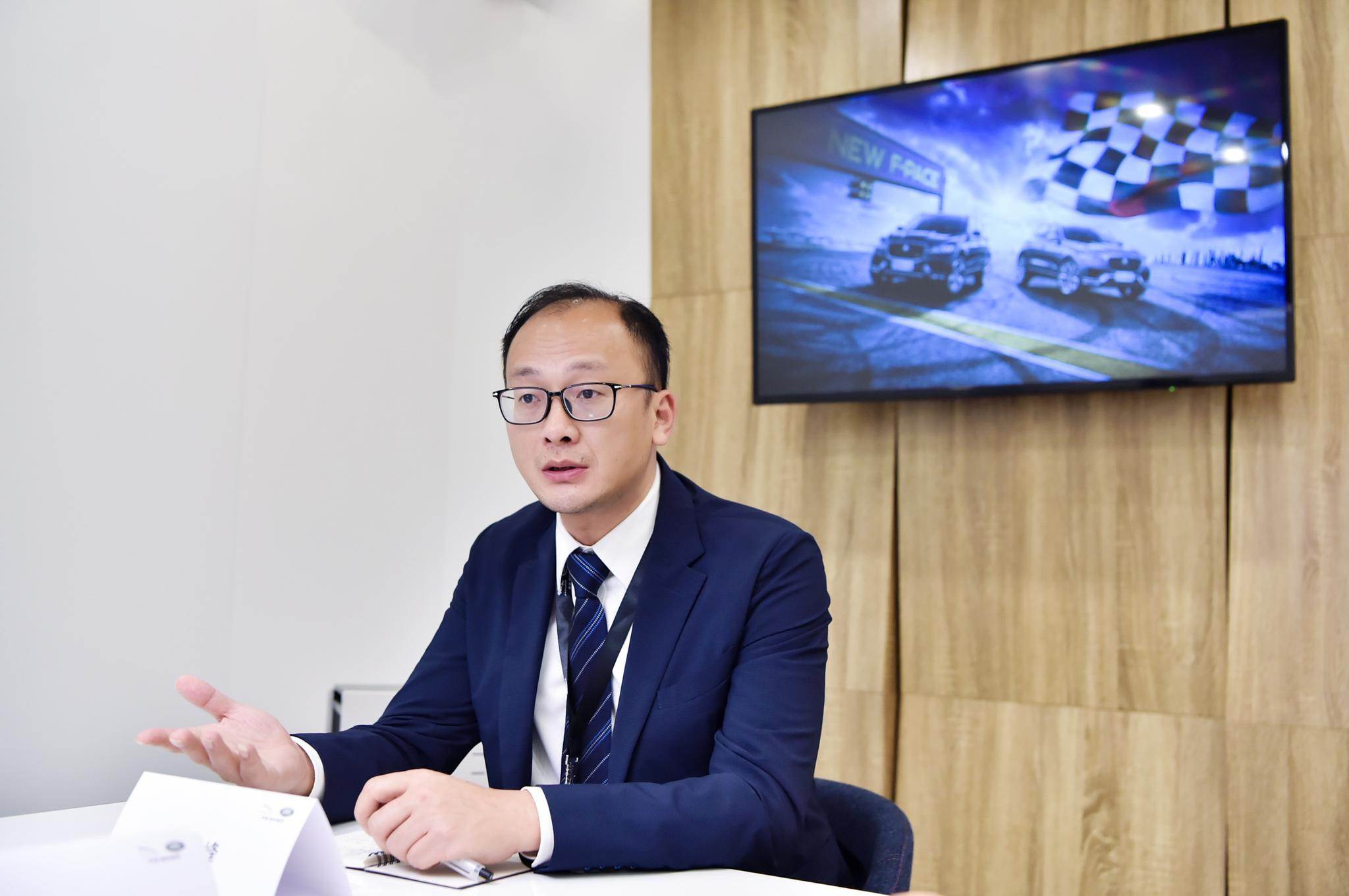 前10月累计销量同比增11% 奇瑞捷豹路虎陈雪峰:明年会有更高增长
