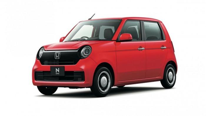 2021款本田N-One微型车在日本上市