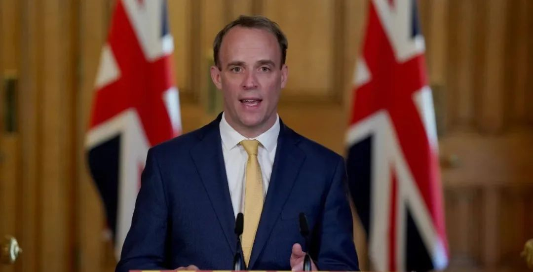 """英国外相:英国在考虑向香港""""停派法官""""图片"""