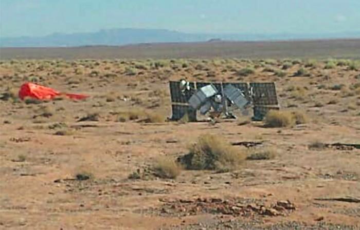 大型神秘物体在亚利桑那州沙漠坠毁  目前没有人解释它是什么