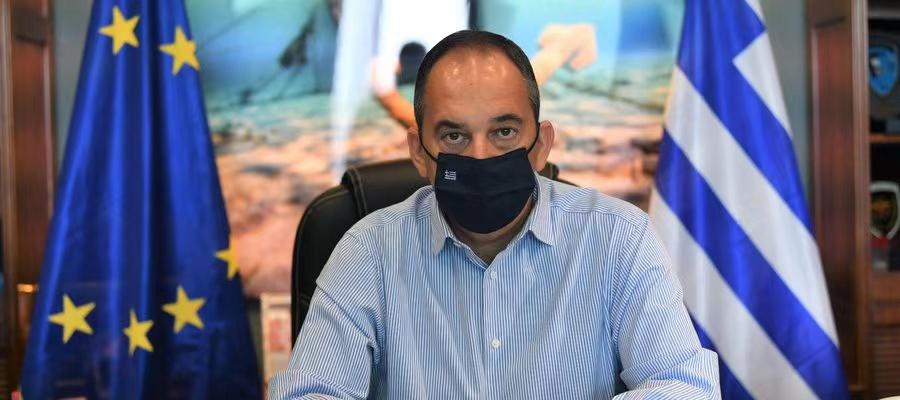 希腊海事与岛屿政策部部长传染新冠肺炎