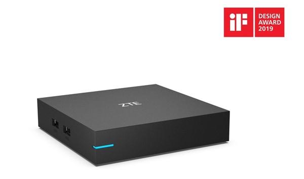 无需布线 中兴发布首款WiFi 6机顶盒:高带宽低时延