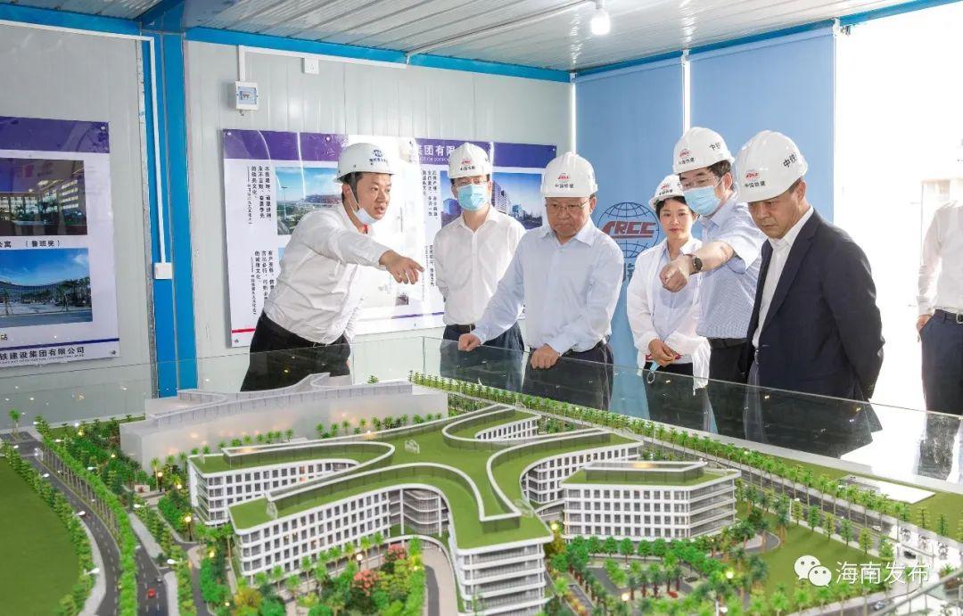 沈晓明:将乐城先行区打造成融入新发展格局的样板工程图片