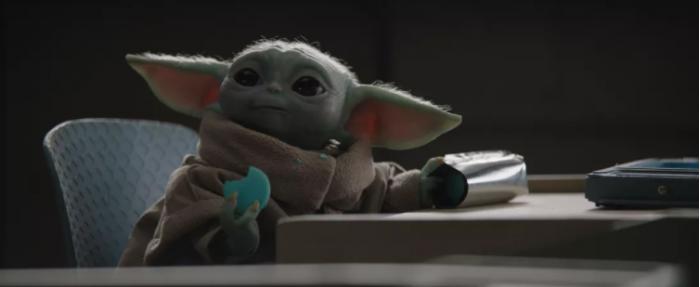 """尤达宝宝的""""太空马卡龙""""在现实生活中的售价为50美元一包"""