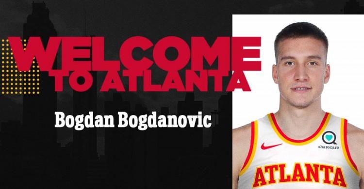 官方:老鹰正式签下博格丹-博格达诺维奇 新赛季将身披13号球衣