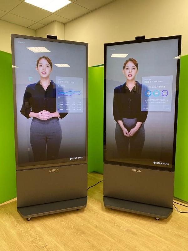 三星STAR研发的NEON虚拟人开始商用 此前不被看好