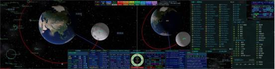 """把宇宙深空""""拉近""""并再现!我校复杂网络与可视化研究所为""""嫦娥五号""""任务保驾护航图片"""