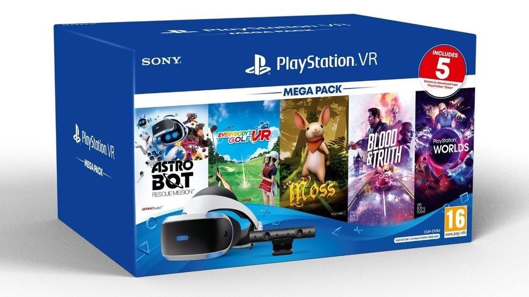 索尼 PS VR Mega 套装发布:支持 PS4/PS5,包含头戴显示器及 5 款游戏