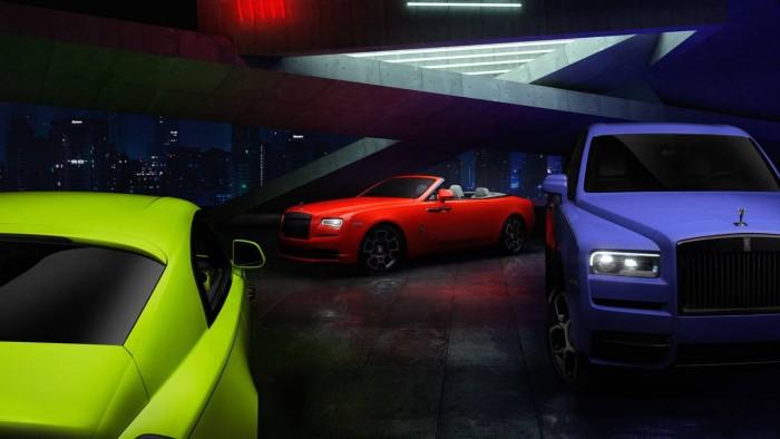 劳斯莱斯推出Neon Nights限量版车型 车身颜色灵感来自于异国植物和动物