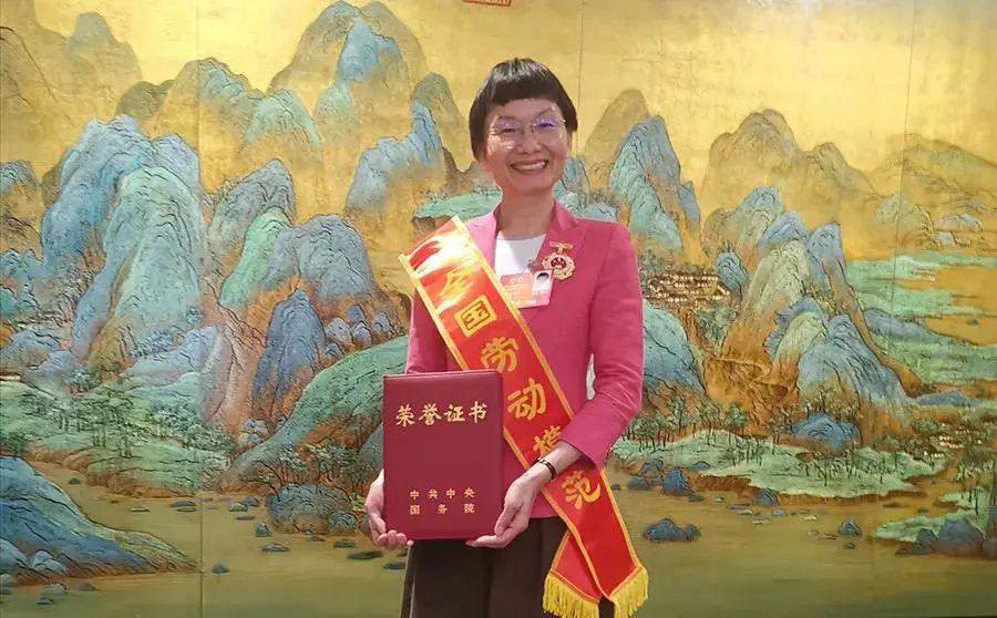 五年评一次!华农女教授获全国劳动模范称号!!图片