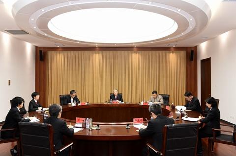天津一中院召开以案为鉴专项教育整顿专题民主生活会图片