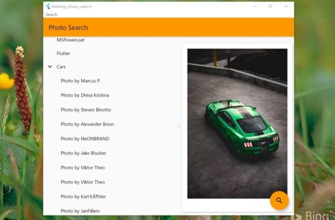谷歌另一款 Flutter UWP 应用上架微软 Win10 商店:桌面照片搜索