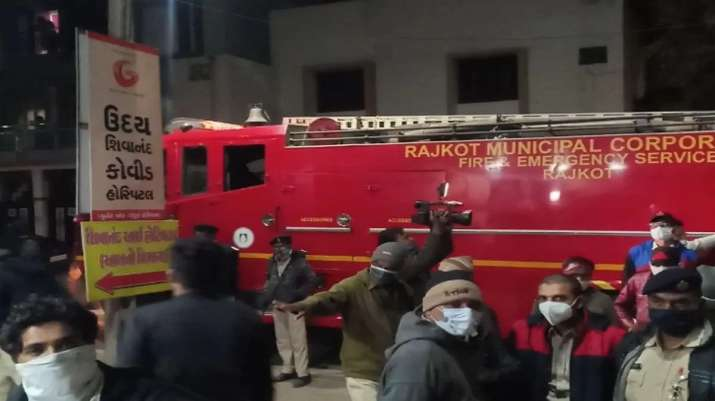 印度古吉拉特一新冠肺炎定点医院起火 5名患者遇难