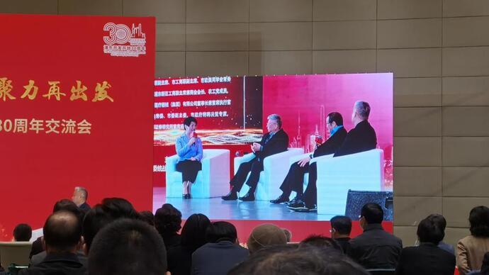 """接受王兆国建议""""去上海看看"""",汤臣集团创始人汤君年在浦东说了这番话图片"""