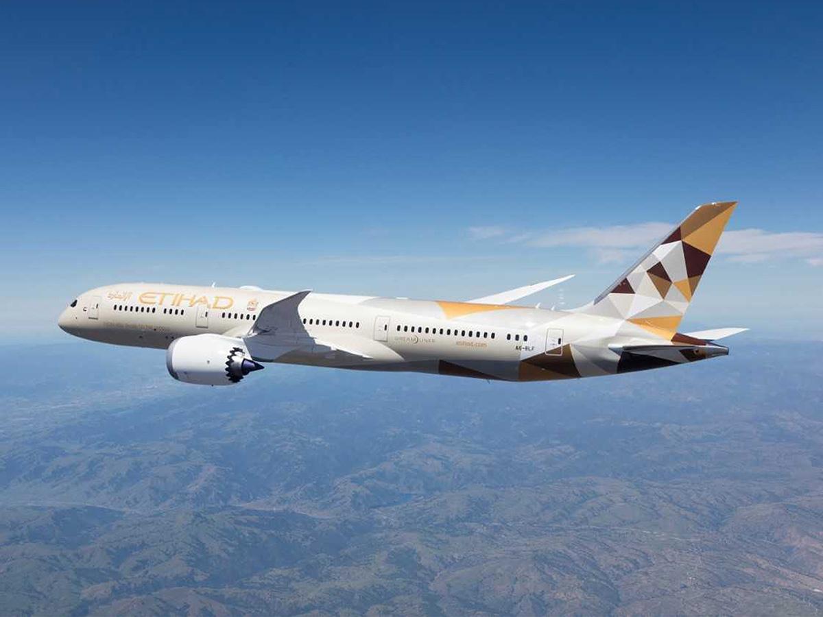 阿联酋阿提哈德航空将于12月复飞北京至阿布扎比航线图片