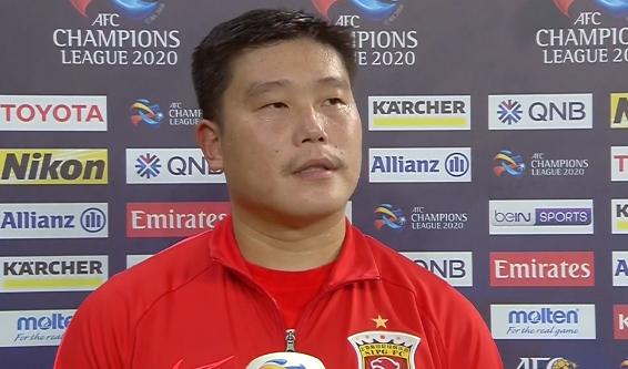 蔡慧康:我的进球功劳属于陈彬彬,换其他球员也能顶进