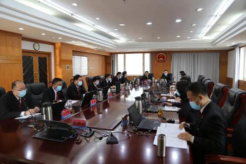 天津二中院邀请天津二分检检察长列席审判委员会会议图片