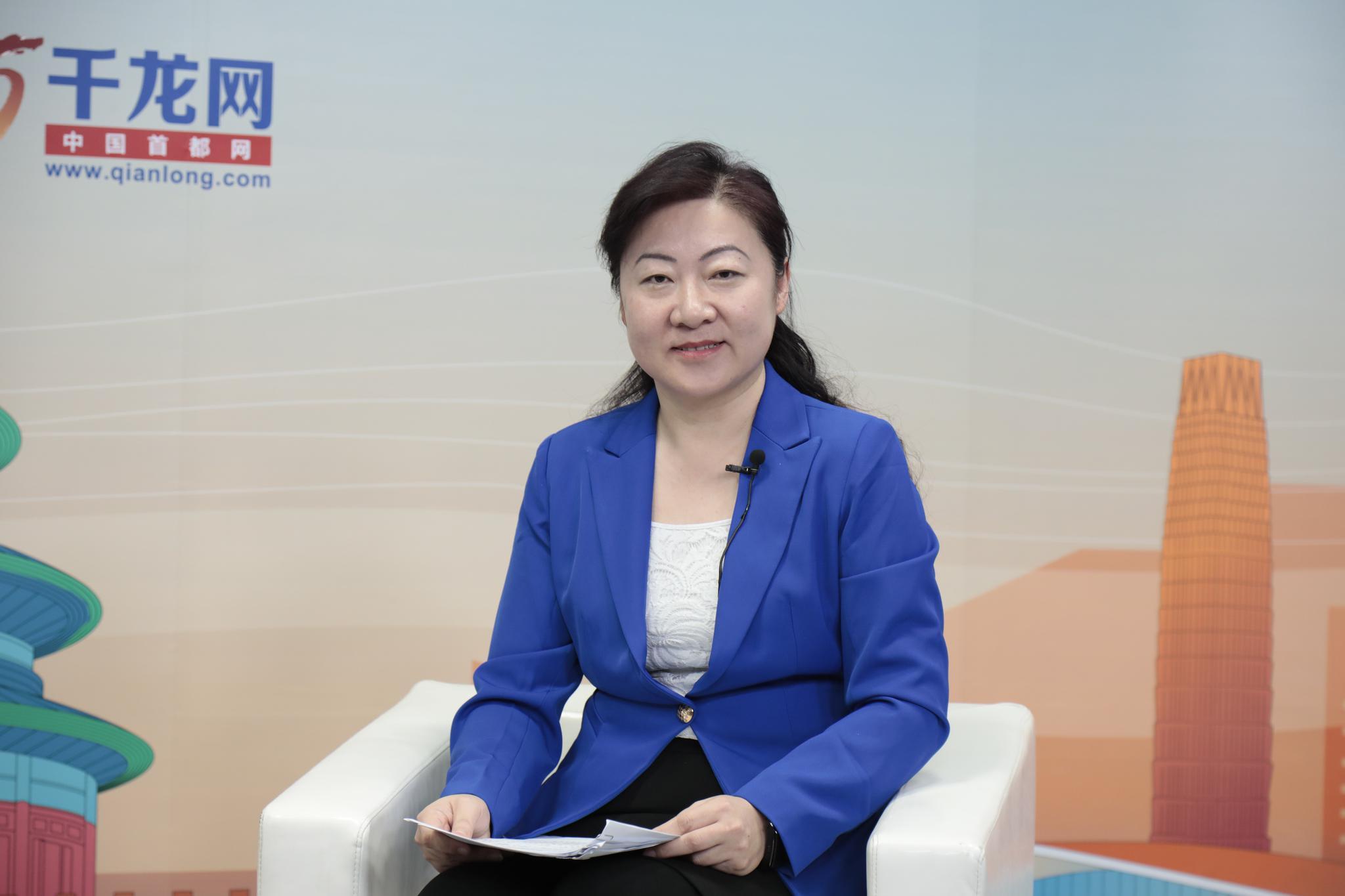 财政局副局长韩杰。摄影/新京报记者 王嘉宁