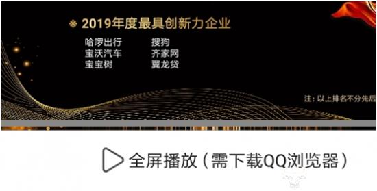 """获""""2019年度最佳稳健成长企业奖"""" 翼龙贷风控能力有目共睹"""