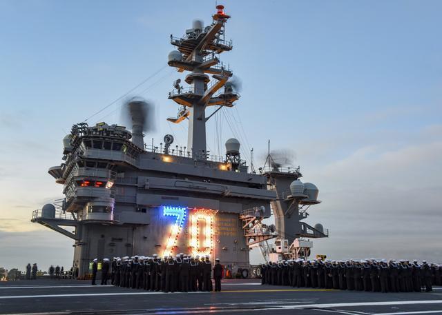 北美传来坏消息,又一艘核动力航母夏季更换母港,山东号面临劲敌