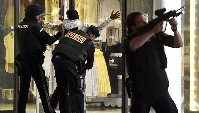 封城前夜维也纳恐袭致10人伤亡,至少一名枪手在逃
