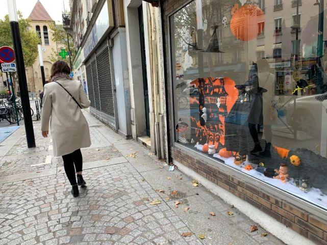 因疫封城又遇袭击事件 法国人过了一个糟心万圣节