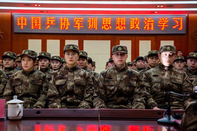 国乒开启全员军训 备战东京奥运会春节不放假图片