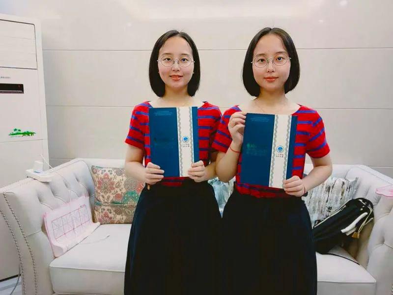 神同步!双胞胎姐妹花考入海大同一专业!图片