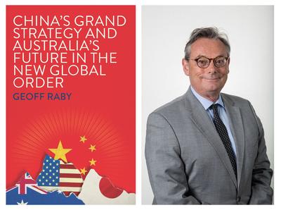 芮捷锐和他新出版的《中国的大战略和澳大利亚在全球新秩序中的未来》墨尔本大学图
