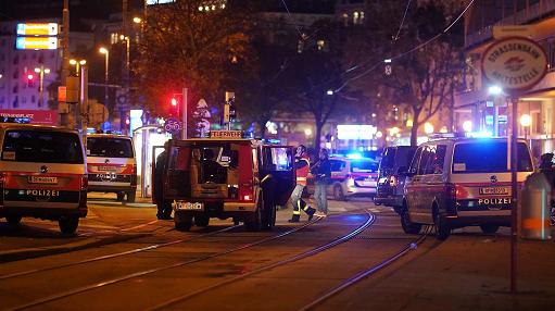 奥地利首都维也纳发生枪击事件 造成多人伤亡