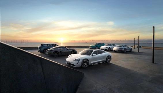 保时捷2019年全球新车交付量增长10%图片